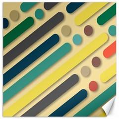Background Vintage Desktop Color Canvas 20  X 20