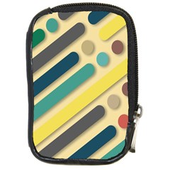 Background Vintage Desktop Color Compact Camera Cases