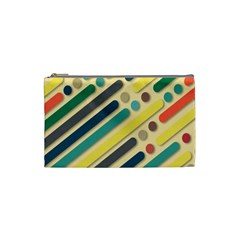 Background Vintage Desktop Color Cosmetic Bag (small)  by Nexatart