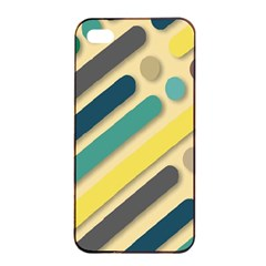 Background Vintage Desktop Color Apple Iphone 4/4s Seamless Case (black) by Nexatart