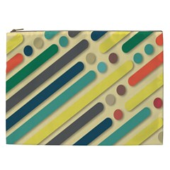 Background Vintage Desktop Color Cosmetic Bag (xxl)