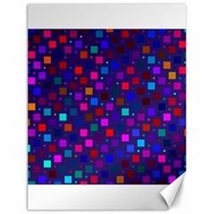 Squares Square Background Abstract Canvas 12  X 16