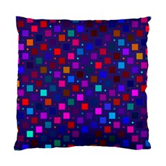 Squares Square Background Abstract Standard Cushion Case (one Side)
