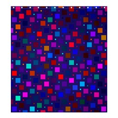 Squares Square Background Abstract Shower Curtain 66  X 72  (large)