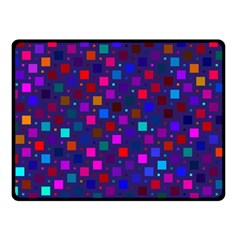 Squares Square Background Abstract Fleece Blanket (small)