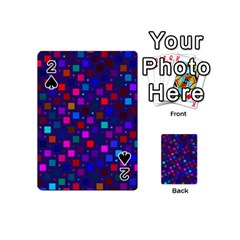 Squares Square Background Abstract Playing Cards 54 (mini)