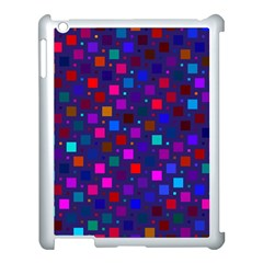 Squares Square Background Abstract Apple Ipad 3/4 Case (white)