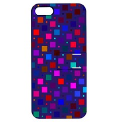 Squares Square Background Abstract Apple Iphone 5 Hardshell Case With Stand