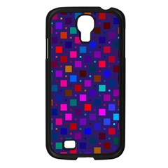 Squares Square Background Abstract Samsung Galaxy S4 I9500/ I9505 Case (black)