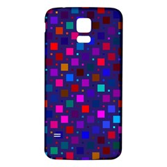 Squares Square Background Abstract Samsung Galaxy S5 Back Case (white)