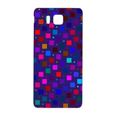Squares Square Background Abstract Samsung Galaxy Alpha Hardshell Back Case