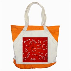 Background Valentine S Day Love Accent Tote Bag