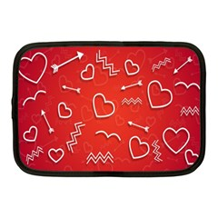 Background Valentine S Day Love Netbook Case (medium)