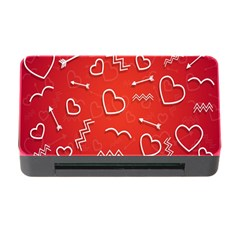 Background Valentine S Day Love Memory Card Reader With Cf