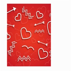 Background Valentine S Day Love Large Garden Flag (two Sides)