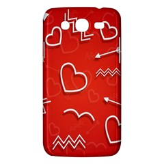 Background Valentine S Day Love Samsung Galaxy Mega 5 8 I9152 Hardshell Case