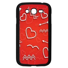 Background Valentine S Day Love Samsung Galaxy Grand Duos I9082 Case (black)