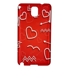 Background Valentine S Day Love Samsung Galaxy Note 3 N9005 Hardshell Case