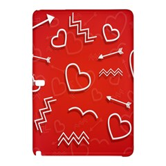 Background Valentine S Day Love Samsung Galaxy Tab Pro 12 2 Hardshell Case