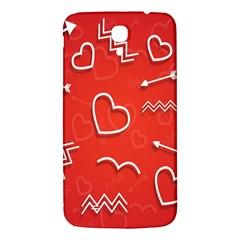 Background Valentine S Day Love Samsung Galaxy Mega I9200 Hardshell Back Case