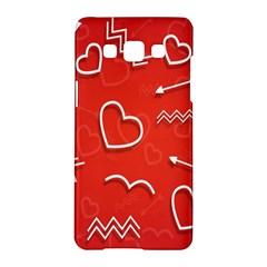 Background Valentine S Day Love Samsung Galaxy A5 Hardshell Case