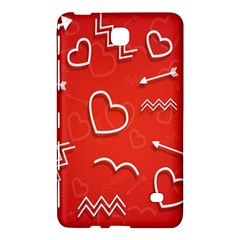 Background Valentine S Day Love Samsung Galaxy Tab 4 (7 ) Hardshell Case
