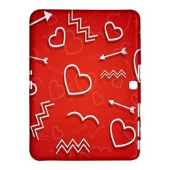 Background Valentine S Day Love Samsung Galaxy Tab 4 (10 1 ) Hardshell Case