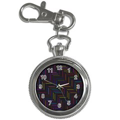Lines Line Background Key Chain Watches