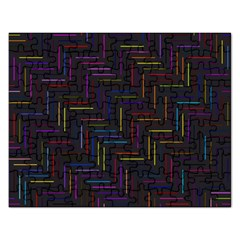 Lines Line Background Rectangular Jigsaw Puzzl