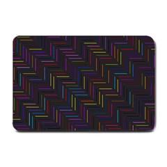 Lines Line Background Small Doormat