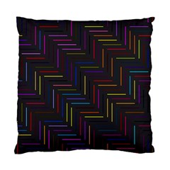 Lines Line Background Standard Cushion Case (one Side)