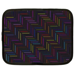 Lines Line Background Netbook Case (xxl)
