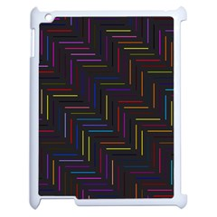 Lines Line Background Apple Ipad 2 Case (white)