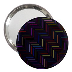 Lines Line Background 3  Handbag Mirrors