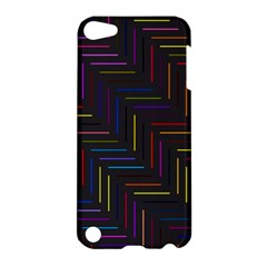 Lines Line Background Apple Ipod Touch 5 Hardshell Case