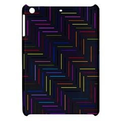 Lines Line Background Apple Ipad Mini Hardshell Case