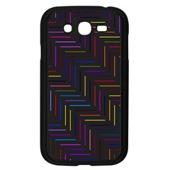 Lines Line Background Samsung Galaxy Grand Duos I9082 Case (black)