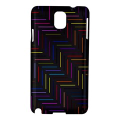 Lines Line Background Samsung Galaxy Note 3 N9005 Hardshell Case