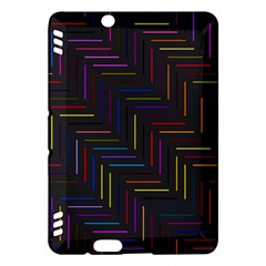 Lines Line Background Kindle Fire Hdx Hardshell Case