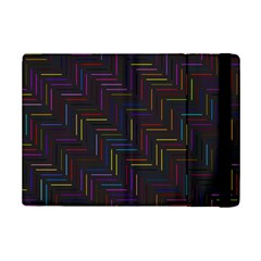 Lines Line Background Ipad Mini 2 Flip Cases