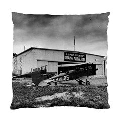 Omaha Airfield Airplain Hangar Standard Cushion Case (one Side)