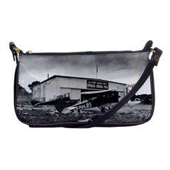 Omaha Airfield Airplain Hangar Shoulder Clutch Bags