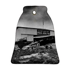 Omaha Airfield Airplain Hangar Bell Ornament (two Sides)