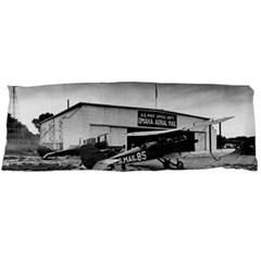 Omaha Airfield Airplain Hangar Body Pillow Case Dakimakura (two Sides)