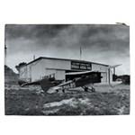 Omaha Airfield Airplain Hangar Cosmetic Bag (XXL)  Back