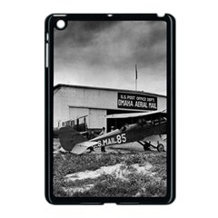 Omaha Airfield Airplain Hangar Apple Ipad Mini Case (black)