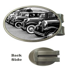 Vehicle Car Transportation Vintage Money Clips (oval)