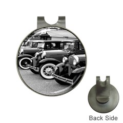 Vehicle Car Transportation Vintage Hat Clips With Golf Markers
