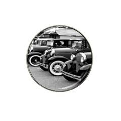 Vehicle Car Transportation Vintage Hat Clip Ball Marker