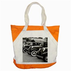 Vehicle Car Transportation Vintage Accent Tote Bag by Nexatart